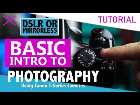 Canon DSLR Basic Camera Tutorial for Photography thumbnail