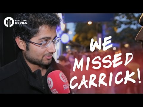 We Missed Michael Carrick! Chelsea 4-0 Manchester United   FANCAM