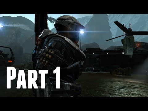 Halo Reach - Walkthrough Part 1 - Noble Actual & Winter Contingency (No Commentary)