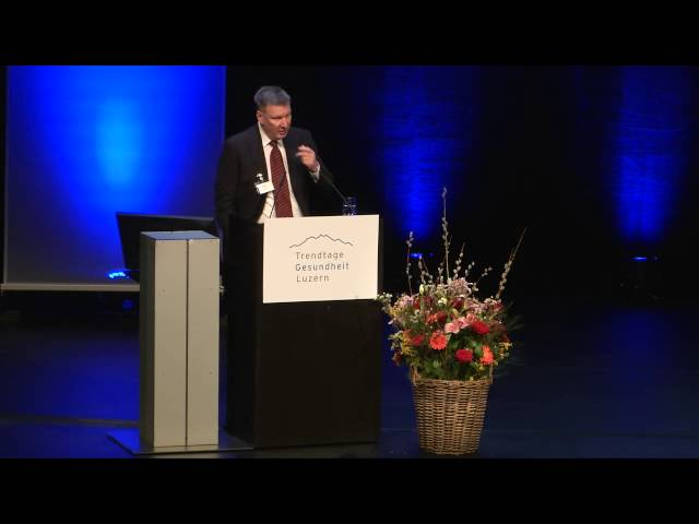 #TGL2016 - Konstantin Beck (Leiter des CSS Instituts für empirische Gesundheitsökonomie)
