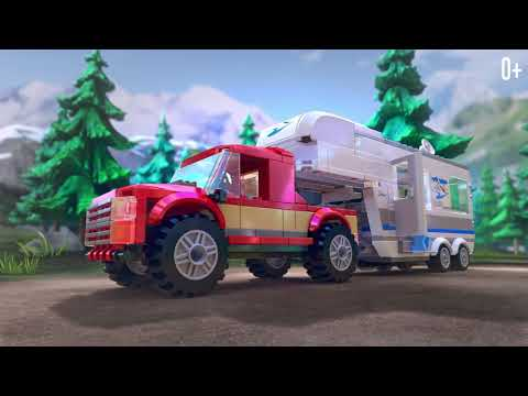 Аэропорт, Автомобили, Грузовики, Гонки и Полиция! - LEGO City