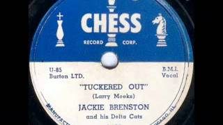 Jackie Brenston - Tuckered Out - Chess 1469 78 rpm spin Sun Records