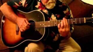 Isa Lei Slack key guitar j-45