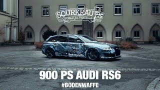 900 PS Audi RS6 - BODENWAFFE / (engl.sub)