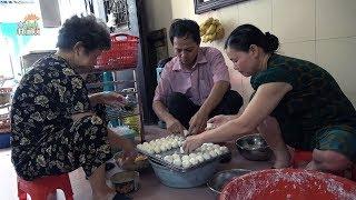 Hướng dẫn cách làm bánh rán Hà Nội ngon mà Việt Kiều và quan chức rất mê#hnp