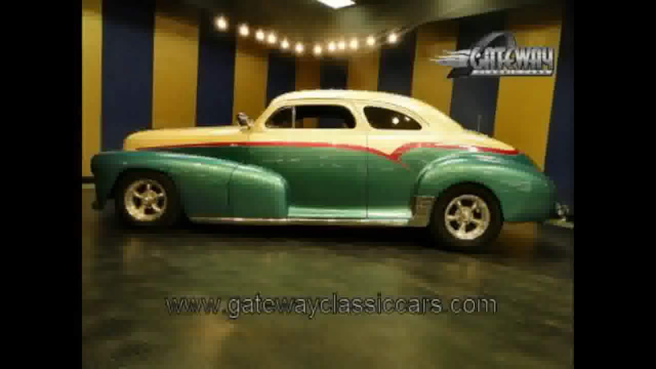 Coupe 1948 chevy stylemaster coupe for sale : 1948 Chevrolet 2 door sedan street rod for sale at Gateway Classic ...