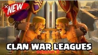 Clan war league season 2/clash of clans