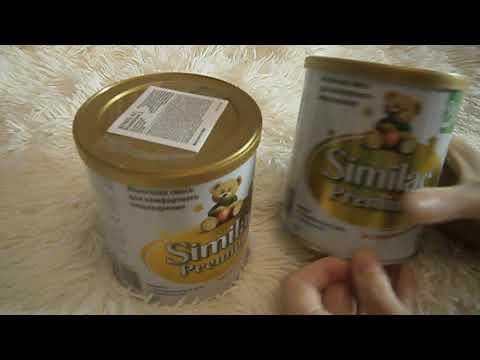 Обзор сухая молочная смесь Similac Премиум 2  из Rozetka .