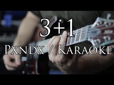 3+1 Karaoke PXNDX - (Panda) Letra - La mejor calidad de youtube!!