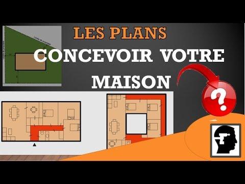 comment concevoir sa maison et r aliser vos plans part 1 youtube. Black Bedroom Furniture Sets. Home Design Ideas