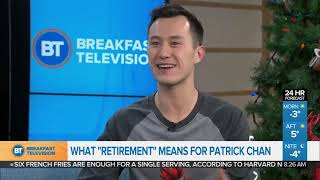 Figure Skater Patrick Chan reflects on 'retirement'