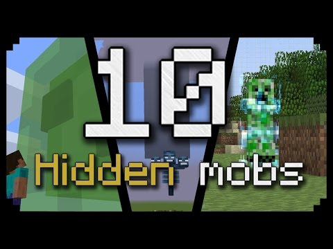 10 Hidden mobs in minecraft and how to spawn them