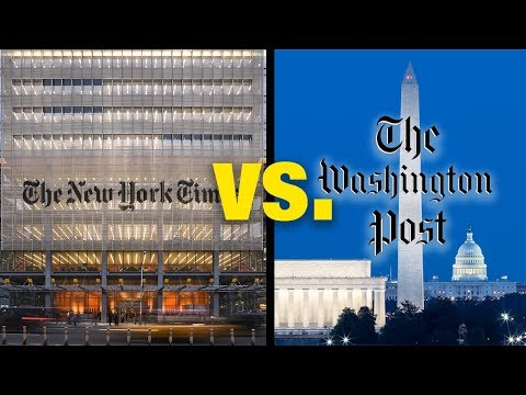 Washington Post and New York Times Compared. (By Journalist)