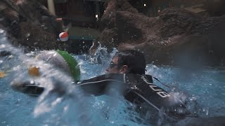 Brownlee Brothers Face Off For HUUB Waterslide Challenge - Part 2