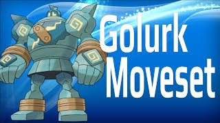 competitive pokemon builds golurk moveset flying robot too op