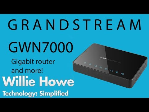 Why doesn't anyone talk about Grandstream gigabit router and