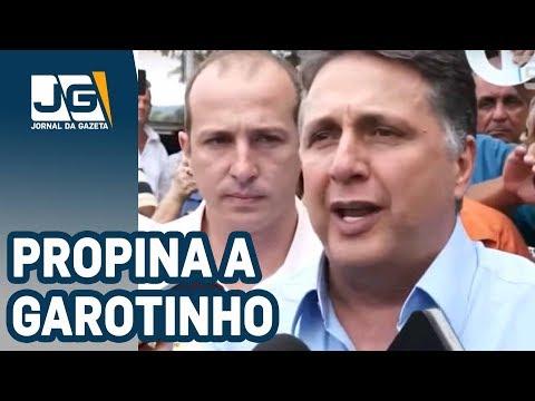 Propina de R$ 3 milhões da JBS para Garotinho