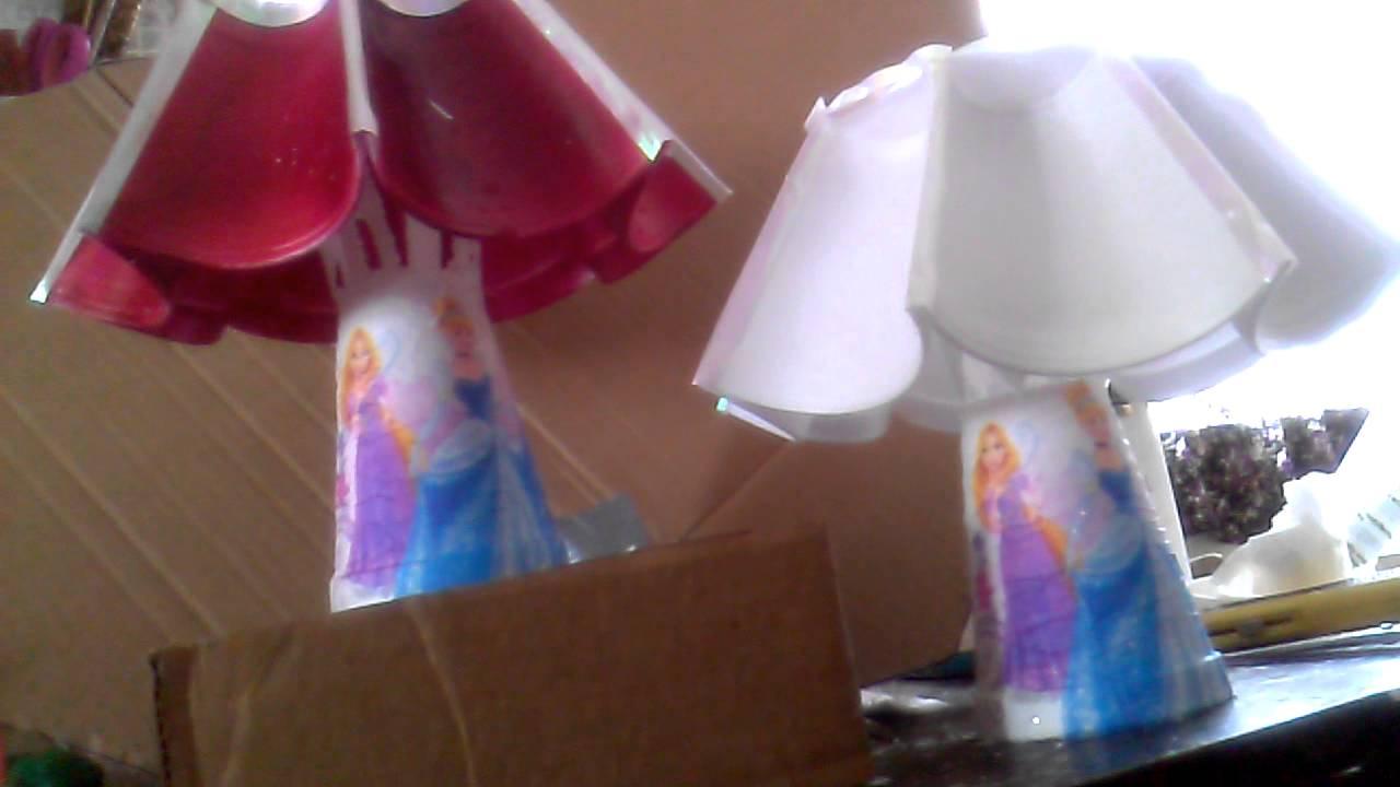 Lampara de centro de mesa youtube - Como hacer una lampara de mesa ...