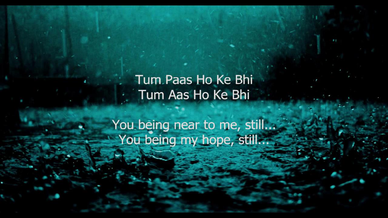 Tu Jaane Na - Lyrics (With English Translation)