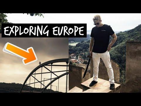 Entrepreneur Exploring Europe - Digital Nomad VLOG