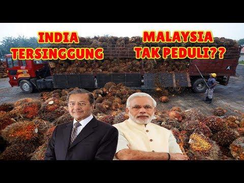 TAK TERIMA DI HANTAM MALAYSIA Pada Sidang PBB INDIA EMBARGO MINYAK SAWIT dan Tolak Jual Jet Tempur