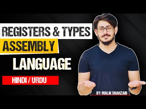 #3 Registers in assembly language and types