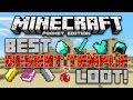 BEST DESERT TEMPLE LOOT SEED Minecraft Pocket Edition 4 Desert Temples Blacksmith