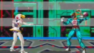 Dual Heroes Game Sample - N64