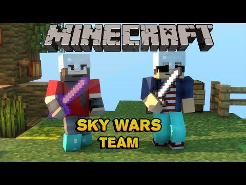 Team Sky Wars - Partida Èpica Ft Feras Dos Games - Minecraft