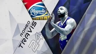 Romeo Travis highlights Magnolia Hotshots 2018