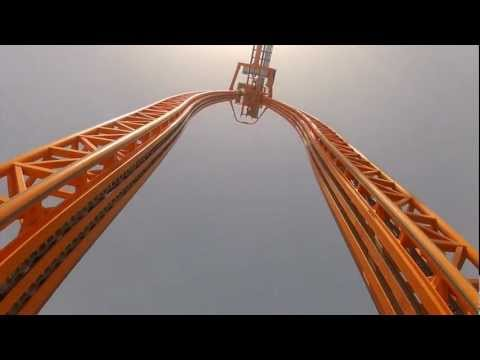 Divertical Front Seat POV Mirabilandia Intamin Water Roller Coaster 1080p HD Italy