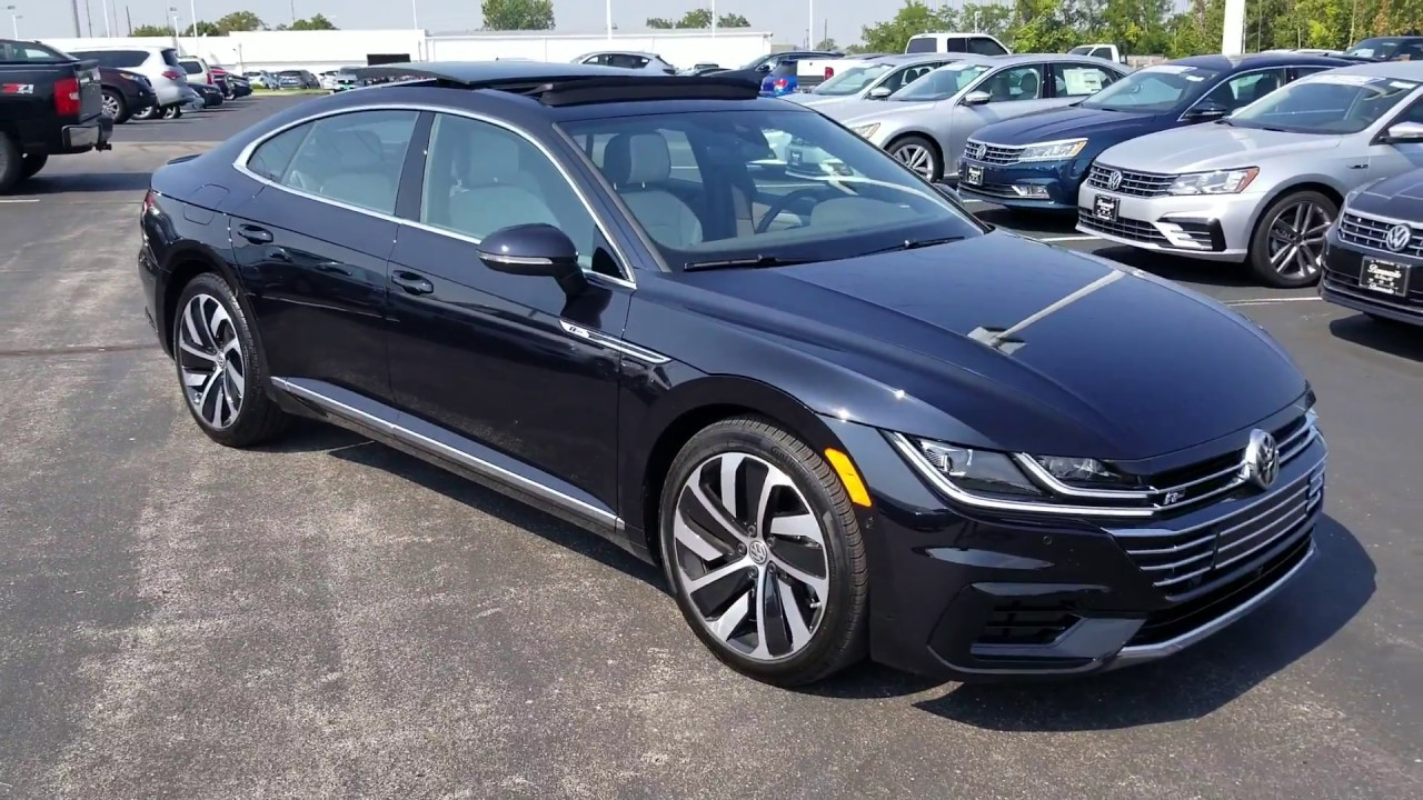 vw arteon  sel premium   motion youtube