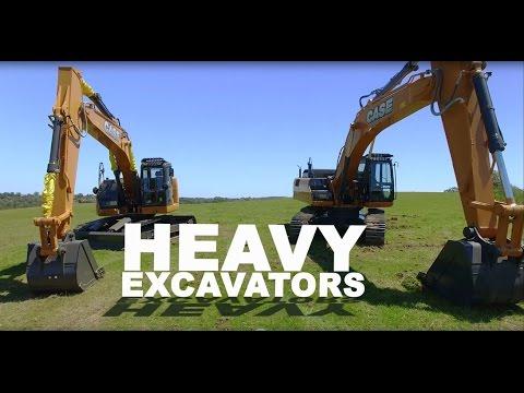 Australia & New Zealand: Heavy Excavators