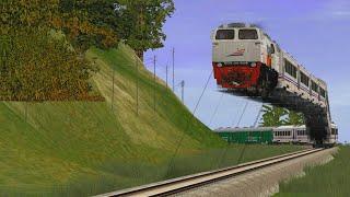 Kereta Api Terbang Seperti Naga Barongsai - Trainz Simulator