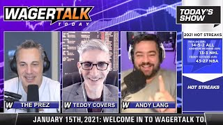 Daily Free Sports Picks | NFL Picks and Playoff Prop Plays on WagerTalk Today | January 15