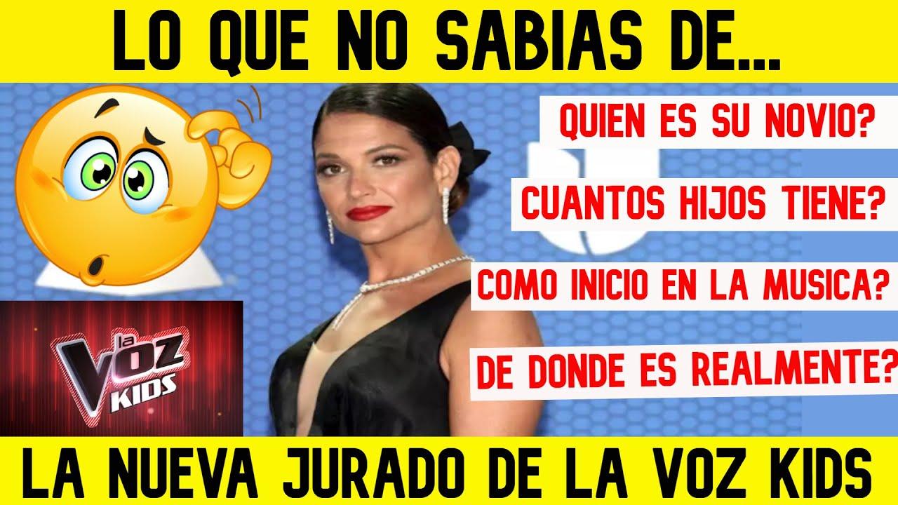 LA VOZ KIDS 2021! LO QUE NADIE SABE DE NATALIA JIMÉNEZ La nueva jurado DE LA VOZ KIDS COLOMBIA 💖💙💛