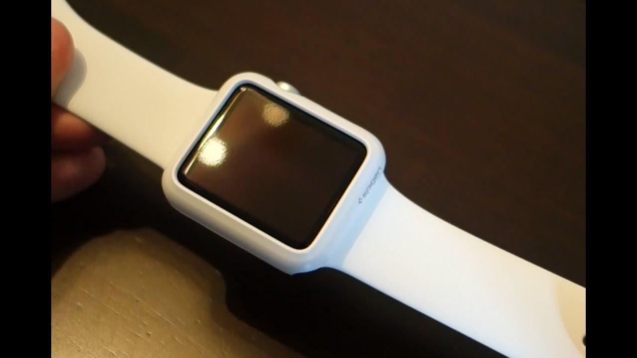 brand new b70c9 6a8da Spigen Thin Fit Case for the Apple Watch - Review