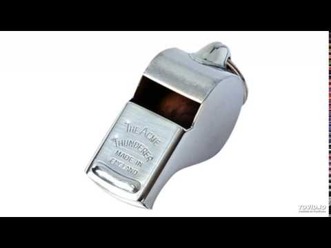 Acme Thunderer 60,5 officiel-Sifflet darbitre de football hockey rugby-Sifflet darbitre
