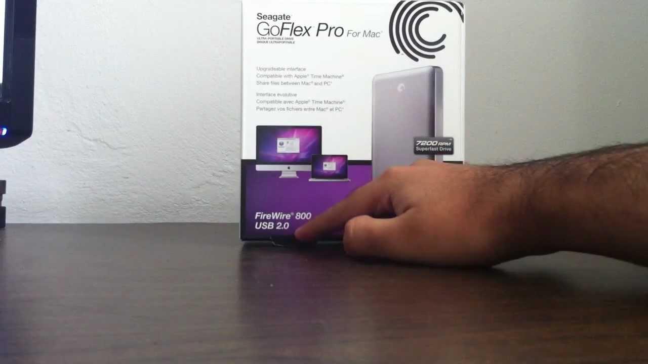 Goflex Pro For Mac Seagate