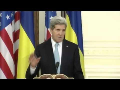 'Russian Aggression Biggest Tthreat Facing Ukraine': John Kerry Visits Kyiv to Meet Poroshenko