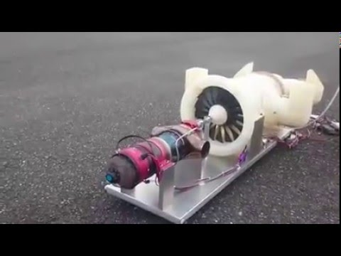 R/C Kingtech Turbofan Turbine Model Jet...