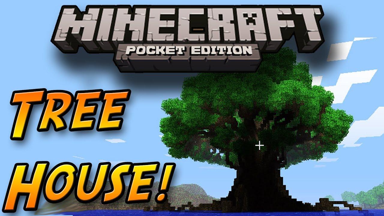 HUGE Tree House Not Really Jerrys Tree Minecraft