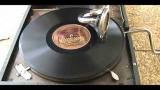 vintage wind up gramophone playing oogie oogie wa wa on ...
