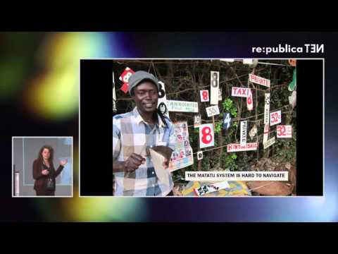 re:publica 2016 – Sarah Williams: Big Data for a Public Good on YouTube
