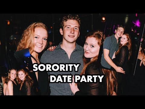 SORORITY DATE PARTY VLOG