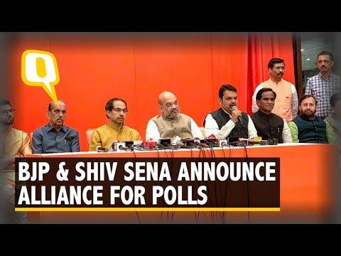 BJP-Sena Seat Sharing Deal: Maharashtra CM Devendra Fadnavis Addresses Media