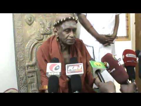 Kumbakonam News by Media Journalist R  Prabakaran Madurai Aadhinam Byte on 03 03 2015