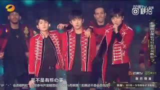 【TFBOYS  王源】TFBOYS 是你 It's You   2016-2017湖南卫视跨年演唱会 【Roy Wang Yuan】
