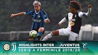 INTER 0-3 JUVENTUS | INTER WOMEN HIGHLIGHTS