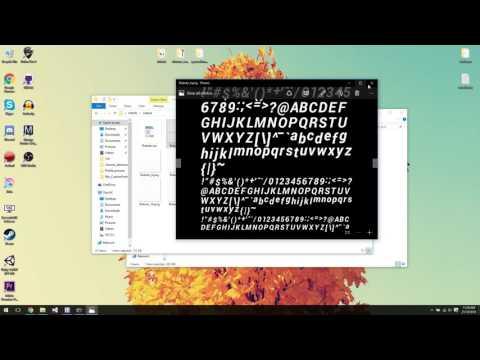 Rbx_CustomFont Font creation tutorial
